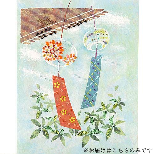 ビーズファクトリー 〜Beads Decor〜風鈴(葉月・8月) ※額は別売り BHD-91