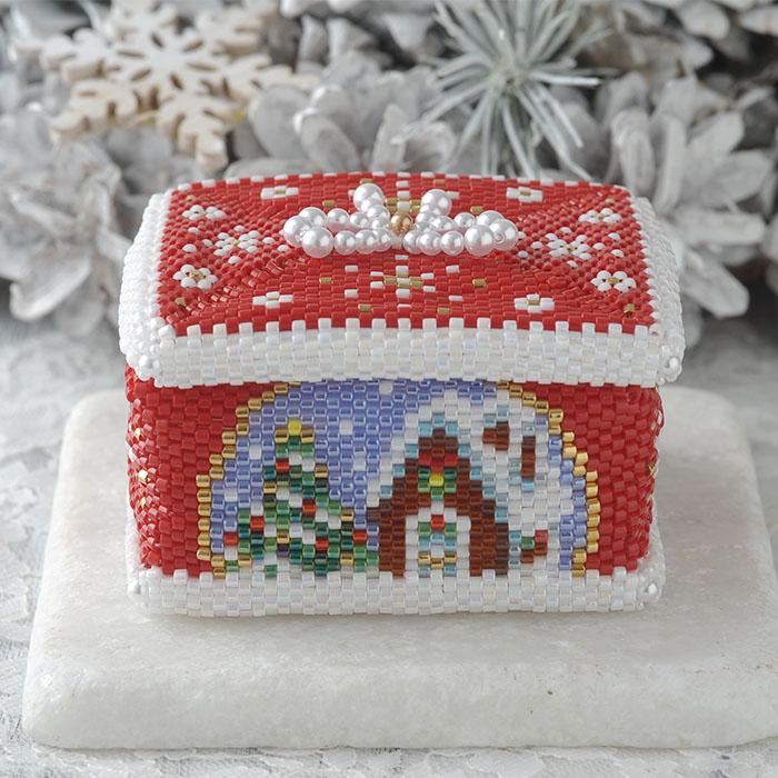 ステッチボックス〜Merry Christmas〜  ビーズマニア
