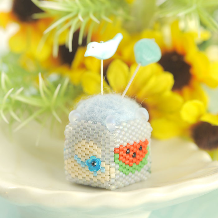 "Summer pincushion 〜mini〜  【作家:しのはらみわ(Little""B"".)】"