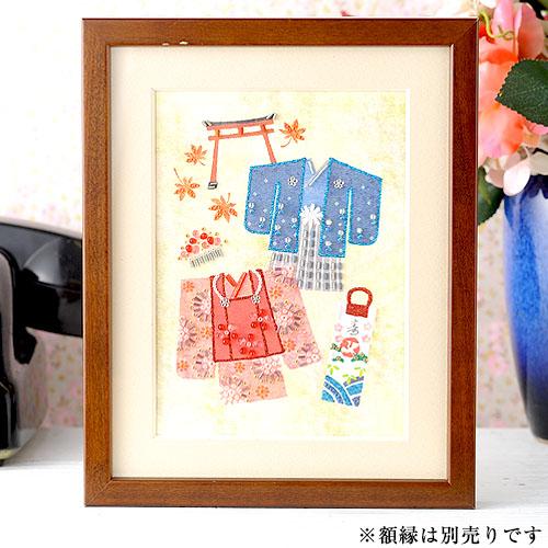ビーズファクトリー 〜Beads Decor〜七五三(霜月・11月) ※額は別売り BHD-94