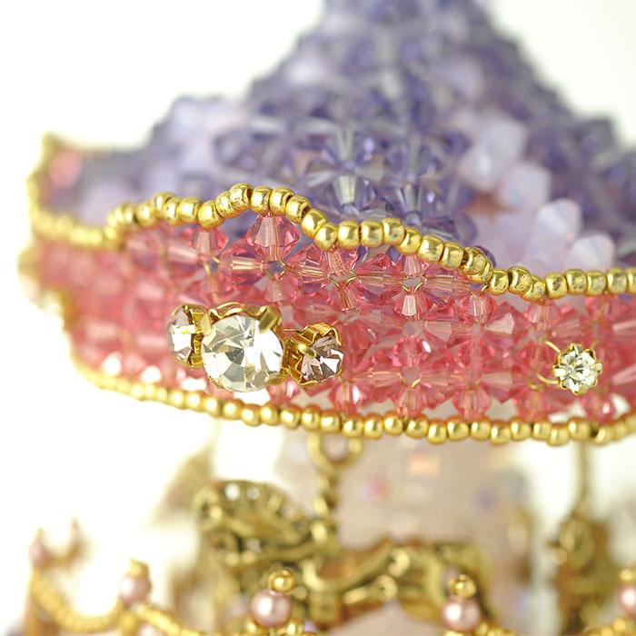 メリーゴーランド〜ビーズマニア限定カラー〜  【作家:ちばのぶよ】