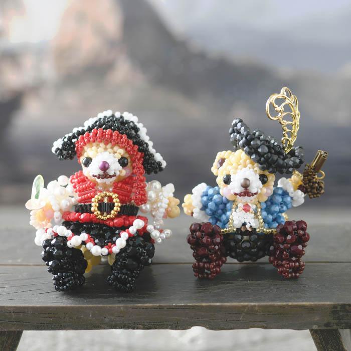 テディベアシリーズ〜海賊・男の子〜 ビーズマニア