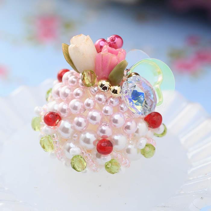 チューリップのドームケーキ  【作家:NARUMIDO】