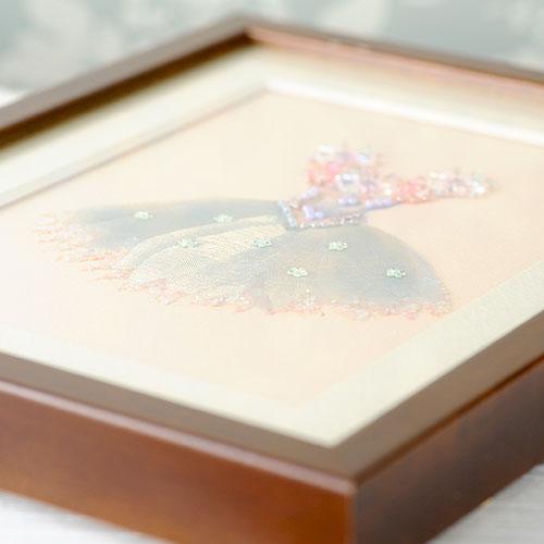 ビーズファクトリー 〜Beads Decor〜フェアリー(チュチュ) ※額は別売り BHD-96