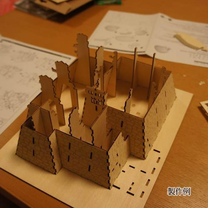 立体パズル 木製 ki-gu-mi 松本城
