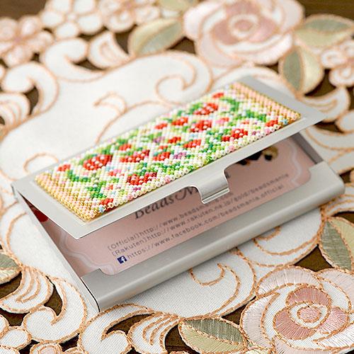 〜イチゴ〜カードケース  ビーズマニア