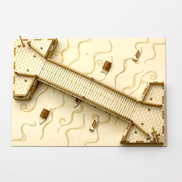 立体パズル 木製 ki-gu-mi 日本橋