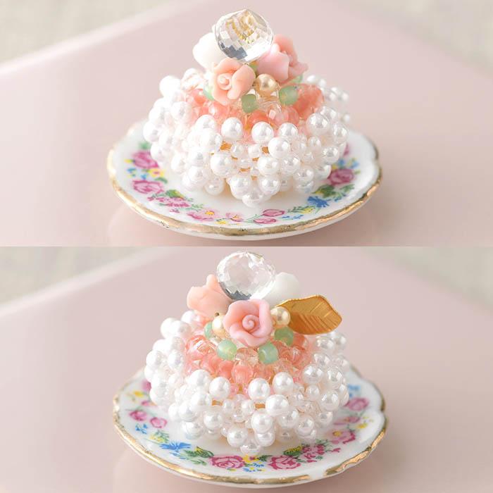 ★10/11 NEW★ ローズジュレのケーキ  【作家:菊島美奈子(angelica)】