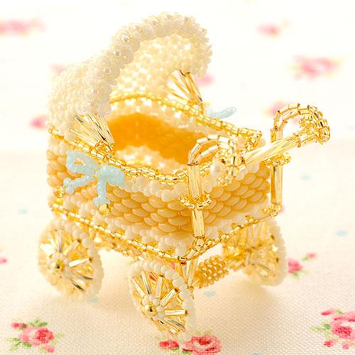 Babyギフト〜クラシカル乳母車〜 ビーズマニア