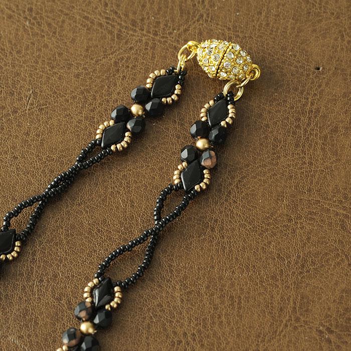 lavender bloom necklace 【作家:荒木晴美(atelier embellir)】