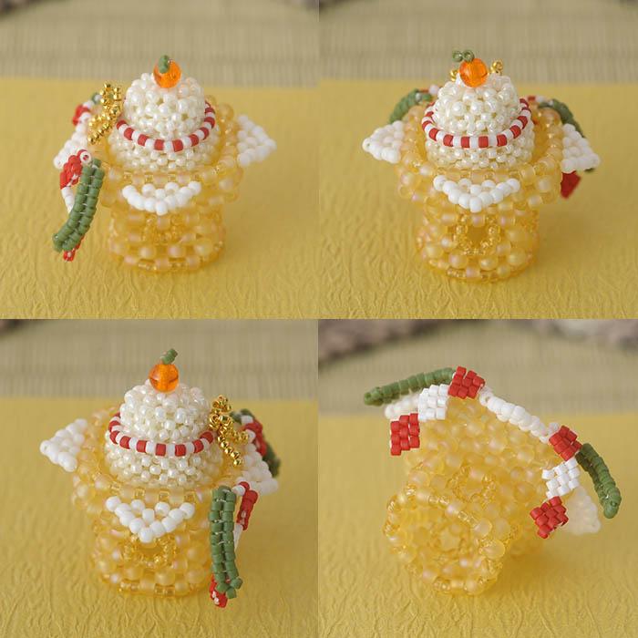 ワクワクお正月飾りセット  ビーズマニア