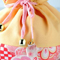 ビーズファクトリー デリカビーズで作る香袋キット〜桜(4月)〜  BFK-322