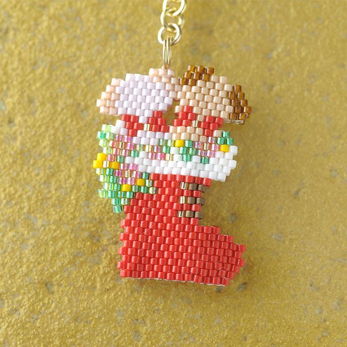 2匹のワンちゃん クリスマス  OT-141 【作家:新井桂子(Fairy-R)】