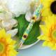 ★4/14 NEW★ 幸せ大輪のひまわりペン  ビーズマニア