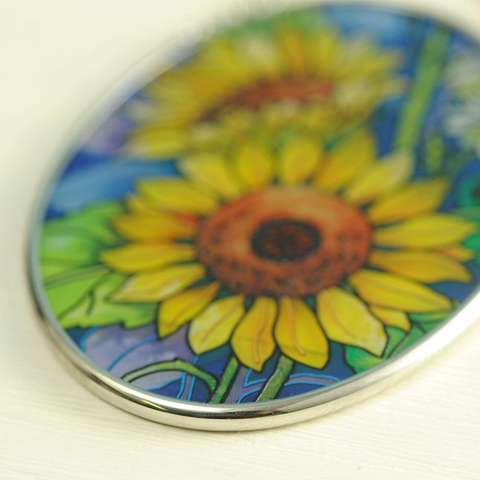 ステンドグラス サンキャッチャー おしゃれ 壁掛け Sunny composition  7606SO
