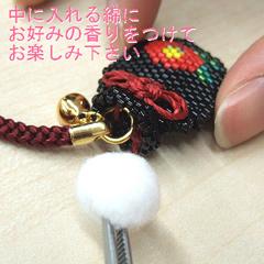 ビーズファクトリー デリカビーズで作る香袋キット〜バラ(6月)〜  BFK-324