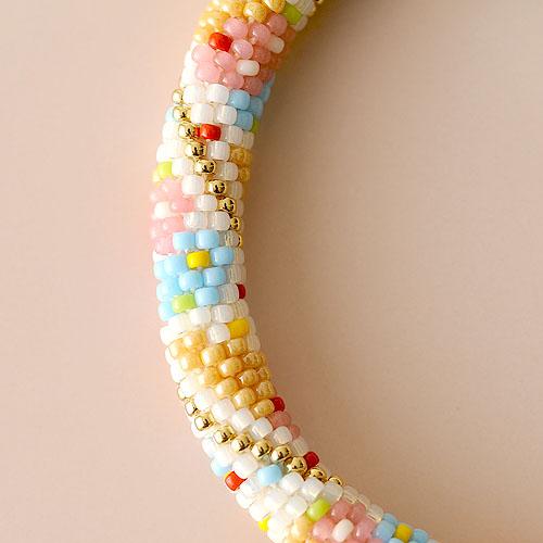 アイスクリームブレスレット  【作家:芝裕子(Atelier Siva)】