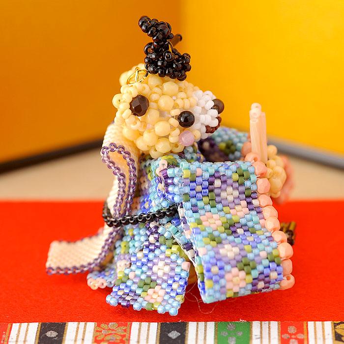 テディベアシリーズ〜ひな祭り・お内裏様〜  ビーズマニア