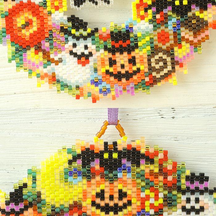 ステッチリース〜Halloween〜  ビーズマニア