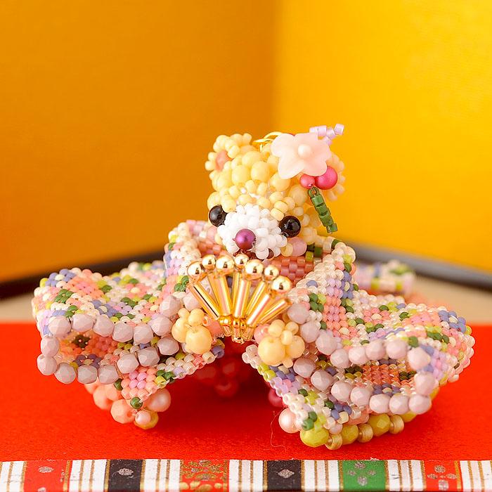 テディベアシリーズ〜ひな祭り・お雛様〜  ビーズマニア