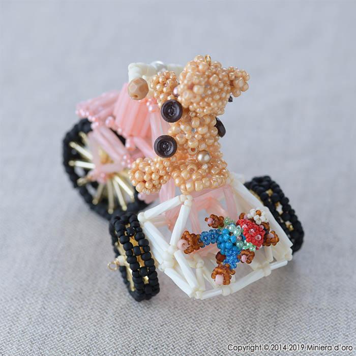 テディベアBigのおもちゃ〜わくわく三輪車〜  【作家:Miniera d'oro】