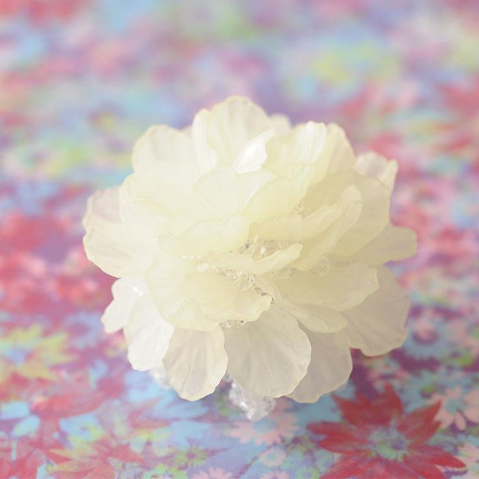 フラワーティーライト(ホワイト)  【作家:渡辺七重(N℃)】