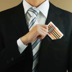 タータンチェックのカードケース  ビーズマニア