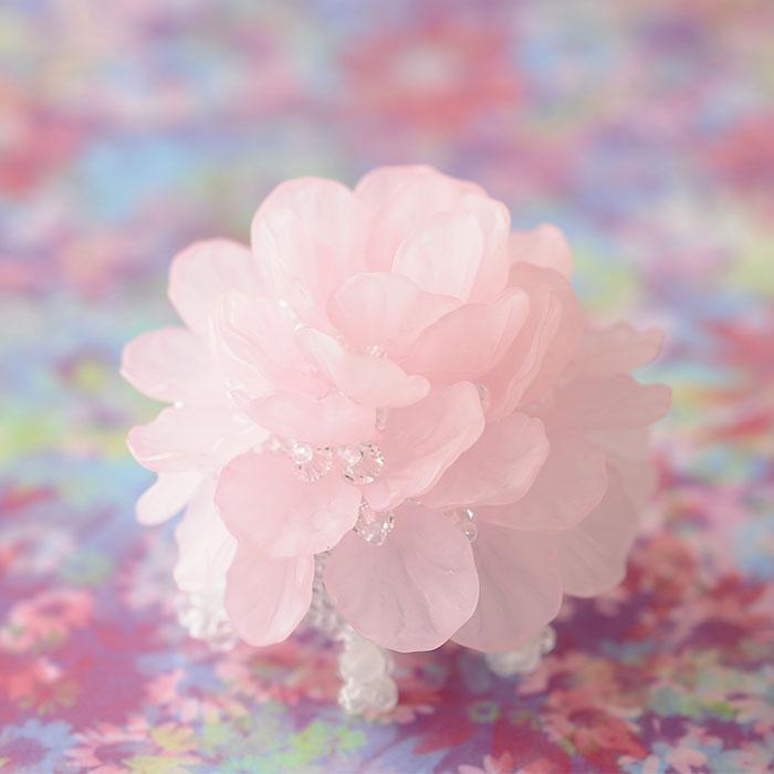 フラワーティーライト(ピンク)  【作家:渡辺七重(N℃)】