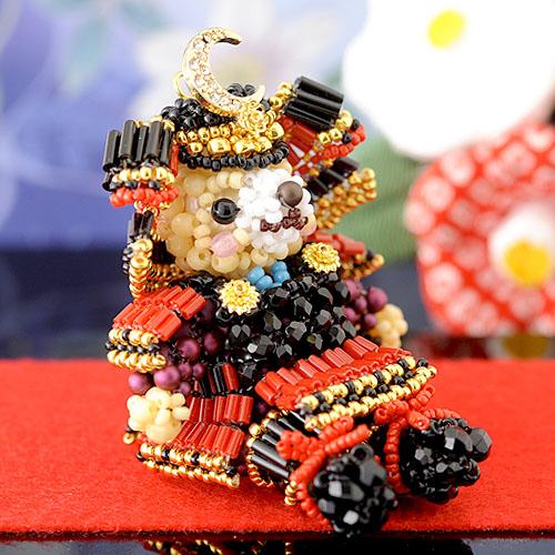 テディベアシリーズ〜五月人形〜  ビーズマニア
