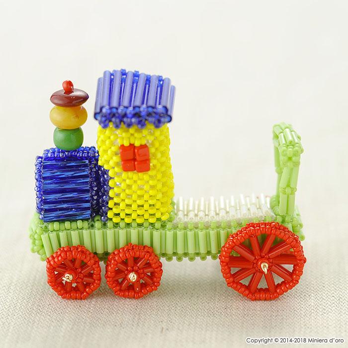 テディベアBigのおもちゃ〜機関車〜  【作家:Miniera d'oro】