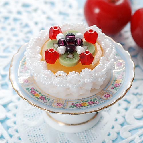 トロピカルフルーツケーキキット  【作家:ちばのぶよ】