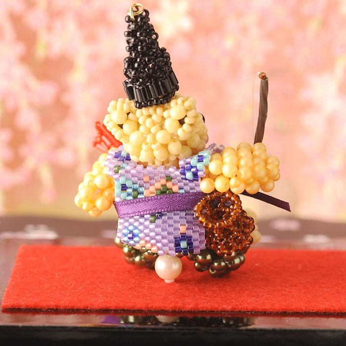 ☆12/16 再入荷☆ テディベアシリーズ〜七福神・恵比寿天〜  ビーズマニア