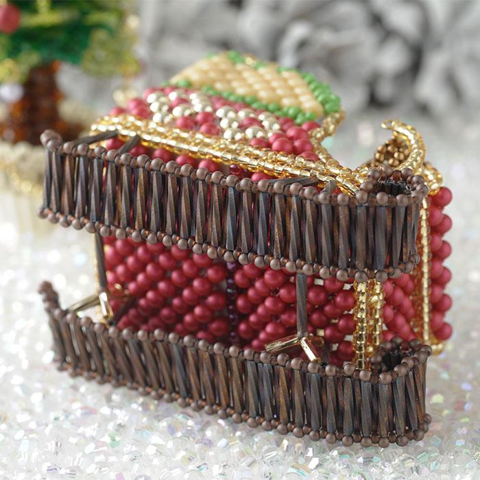 Babyギフト〜クリスマス・楽しいソリ遊び〜 ビーズマニア