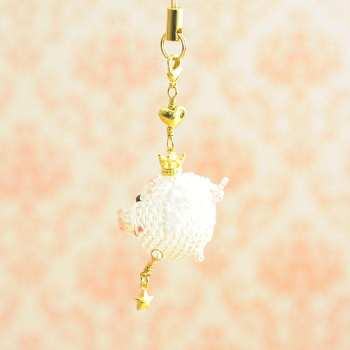 """幸せコロブタ・Angel(ピンク・金) 【作家:しのはらみわ(Little""""B"""".)】"""