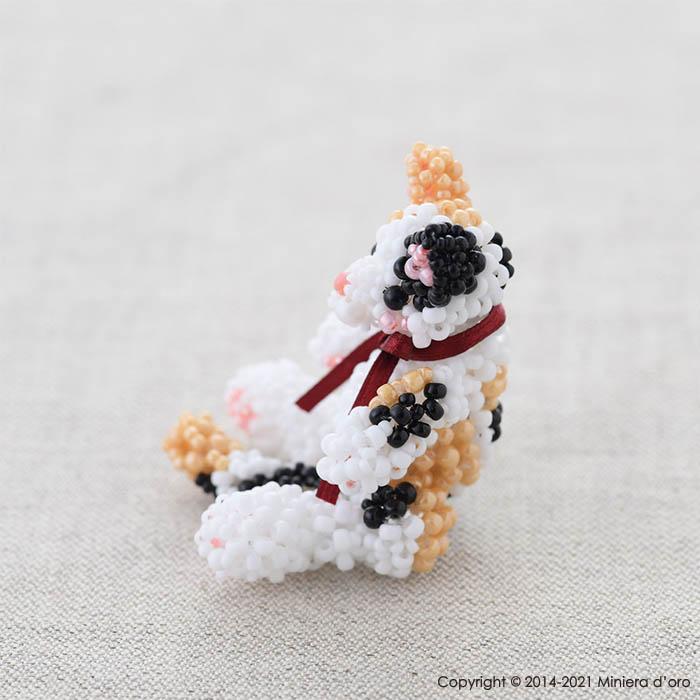☆7/22 再入荷☆ まったり猫〜三毛Mugi〜  【作家:Miniera d'oro】