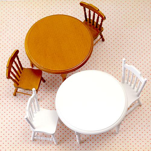 【House of dwarf】テーブルチェアセット(ブラウン)