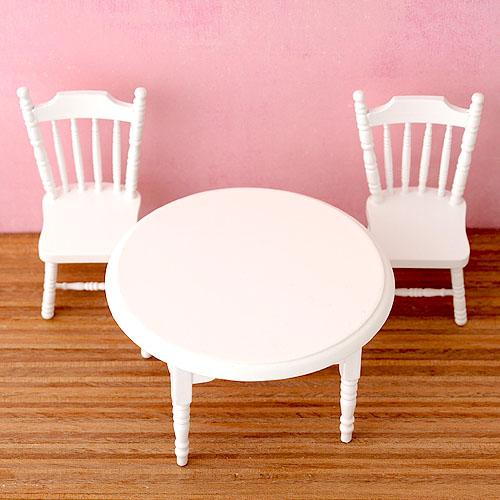 【House of dwarf】テーブルチェアセット(ホワイト)