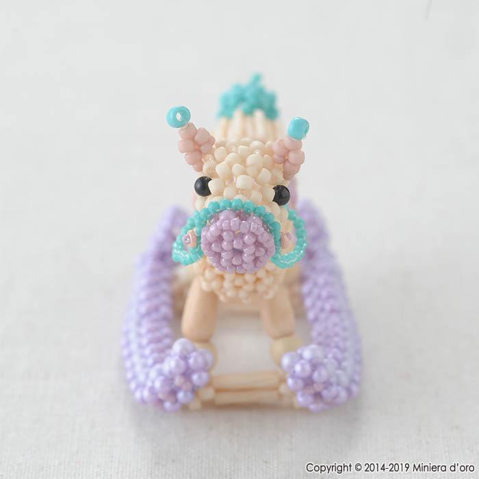 テディベアBigのおもちゃ〜ゆらゆら木馬〜  【作家:Miniera d'oro】