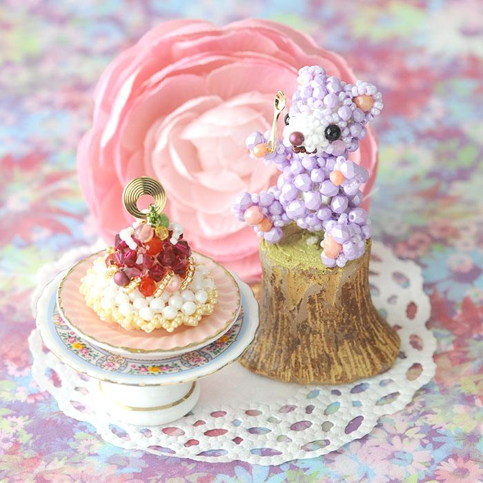 Sweetテディベア〜Parme・パルム〜 ビーズマニア