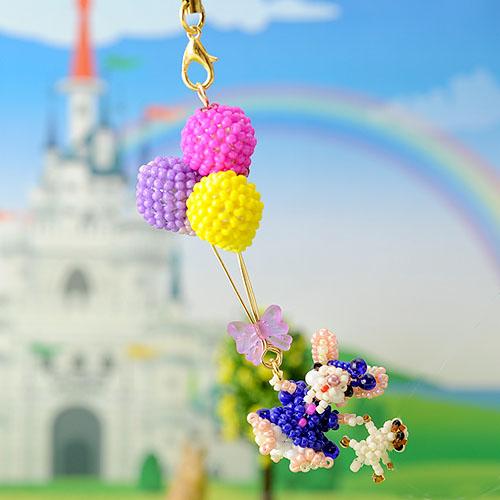 子うさぎ姫の風船の旅  ビーズマニア