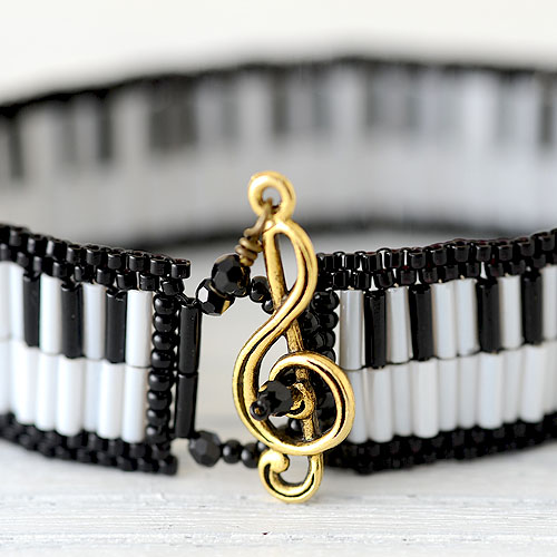 "Piano bracelet 【作家:しのはらみわ(Little""B"".)】"