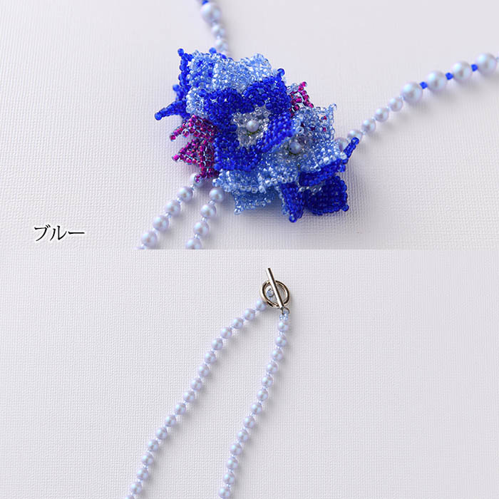 ★10/15 NEW★ 花束のネックレス 【作家:加藤保子】