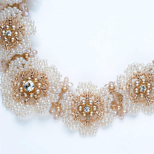 Lace Flower Necklace  N-87 【作家:Shinon あわいしのぶ】