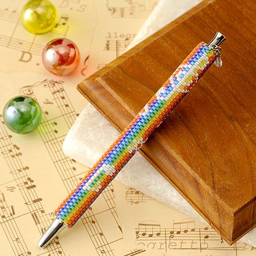 """Beaded pen〜Happy Music〜  【作家:しのはらみわ(Little""""B"""".)】"""