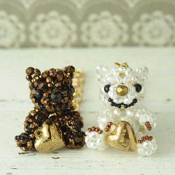 ホビックス チョコレートベアのバッグチャーム〜ショコラ〜  CBD-676