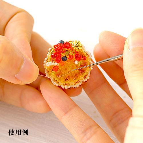 チューリップ クッショングリップ付き目打ち(極細タイプ)ピンク  TM-01 【メール便対象商品】