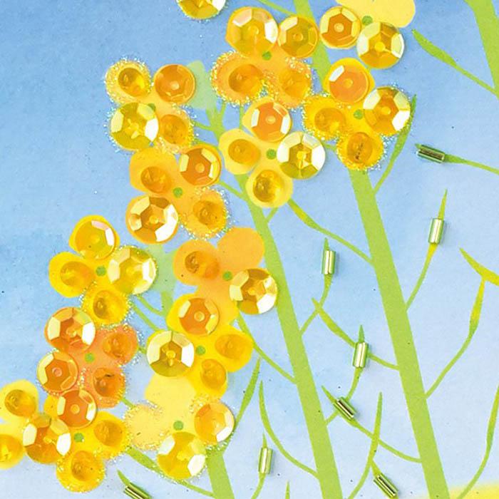 【現在庫分☆限定SALE中】 ビーズファクトリー 〜Beads Decor〜春爛漫(3月) ※額は別売り BHD-151