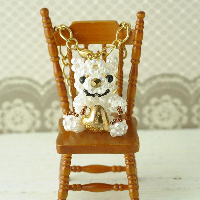 ホビックス チョコレートベアのバッグチャーム〜ミルク〜  CBW-677