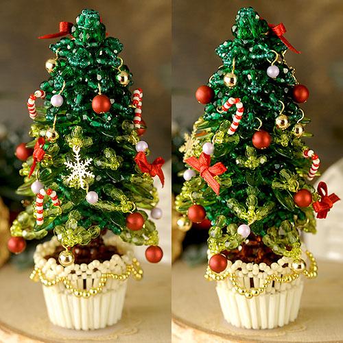 クリスマスツリー〜グリーン〜 ビーズマニア