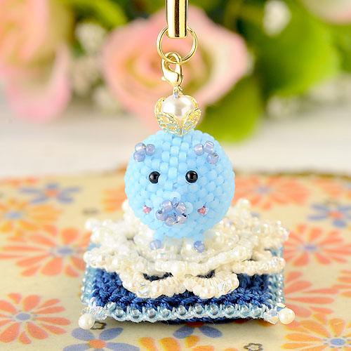 ブタに真珠のお座布団(コラボキット)『王子』  【作家:芝裕子・しのはらみわ】